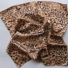 Gift 20&quot; Neck Head Scarf Wrap Leopard Spots - must read details