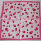 "Gift 20"" Neck head Scarf Wrap Bandana Pink Dots"