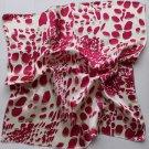 """Gift 20"""" Neck head Scarf Wrap Kerchief Bandana Red Dots Xmas"""