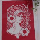 Gift papercut paper-cuts papercutting art -- Beauty