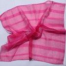 "Gift 21"" Neck head Scarf Wrap Kerchief Bandana Pink - must read details"