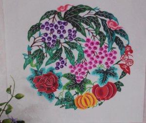 Gift Art paper-cuts papercut paper cut Papercutting -Fruits -halloween Pumpkins