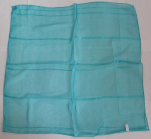 "Gift 21"" Neck head Scarf Wrap Bandanna Kerchief Blue Fast Shipping"