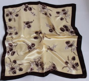 """Gift 20"""" Neck head Scarf Wrap Flowers - must read details"""