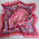 """Gift 26"""" Neck head Scarf Wrap Kerchief Chains Pink -must read details"""