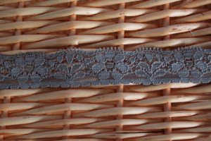 Sold Out: 1.1 Yds 0.94&quot; Stretch Lace Trim DIY Floral Taupe Gift