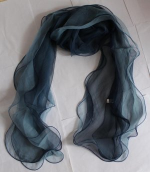 Gift 100% Silk Three Layers Scarf Ruffle  Elegant