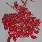 papercut paper-cuts papercutting art Romance of 3 Kingdoms- if buy 10pcs free ship must read details