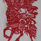 papercut paper-cuts papercutting art Romance of 3 Kingdoms if buy 10pcs free ship must read details