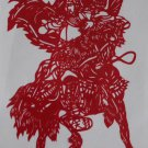 papercut papercutting Romance of the Three Kingdoms - if buy 10  pcs free ship must read details
