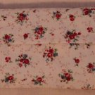 Homemade Tissue Cover Cozy Sweet Red Flowers Cotton OR DIY Patchwork materials