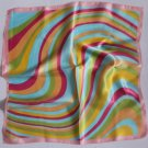 "Gift 20"" Neck head Scarf Wrap Stripes with obvious defects- must read description"