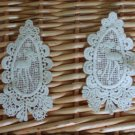 Lovely Cotton Venise Deer Appliques Patch Retro 2 pcs -have color deviation
