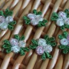 Lovely Appliques Patch 3D Flowers 6 pcs Fast Shipping
