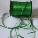 "Beautiful Green Ribbon Band 0.12 "" Wide 10 yds Fast Shipping"