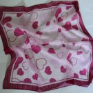 "Gift 24"" chiffon Silk Neck Head Scarf Wrap Hearts  - Fast Shipping"