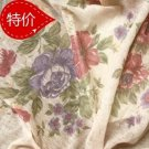 Fabric Gauze Floral 1.7 m x 0.5 m  --- LOCAL PICKUP!