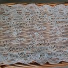 "Fabulous Lace Trim Floral 6.5"" Wide 1.1 yds Fast Shipping"