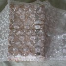 """Fabulous Lace Trim Embroidered Flowers on Tulle 12.99"""" Wide 1.1 yds Fast Shipping"""