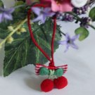 Lovely two red balls with cord 1 pc Fast Shipping