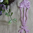 Lovely Purple Embroidered Flowers Appliques Patches 1 Pc Fast Shipping