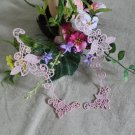 Lovely Embroidered Flowers Appliques Patches 2 pcs Fast Shipping