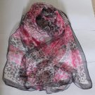 Fabulous Gift 100% Silk Oblong Scarf Wrap Fast Shipping