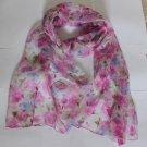 Fabulous Gift 100% Silk Oblong Scarf Wrap Fast Shipping