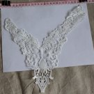 Beautiful Venise Floral lace Collar Appliques Patch Fast Shipping