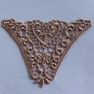Lovely Venise Floral Appliques Patches 4 pc Fast Shipping