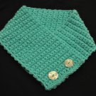 Light Turquoise Crochet Neck Warmer