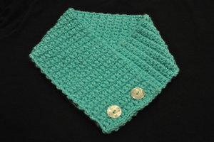 Light Turquoise Crochet Neck Warmer Christmas Gifts