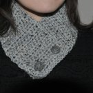 Crochet Gray Marble Neck Warmer