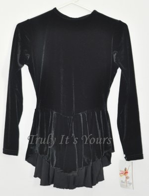 Black Bal Togs Ice Skating Dress