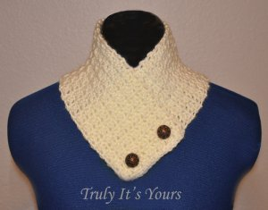Yellow Crochet Neck Warmer