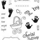 Fiskars Special Delivery Clear Stamps
