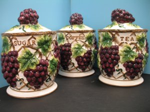 Http Newlook11 Ecrater Com P 17153399 3 Pcs 3d Grape Canister Set