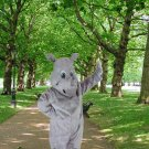 New rhinoceros mascot costume Halloween costume fancy dress free shipping