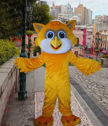 New high quality owl mascot costume adult size Halloween costume fancy dress free shipping