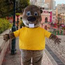 New high quality mascot costume woodchuck adult size Halloween costume fancy dress free shipping