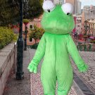 New high quality frog mascot costume adult size Halloween costume fancy dress free shipping