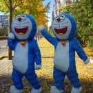 New high quality doraemon mascot costume adult size Halloween costume fancy dress free shipping