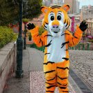 New high quality lovely tiger mascot costume adult size Halloween costume fancy dress free shipping