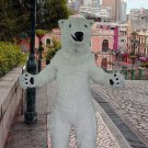 high quality polar bear mascot costume adult size Halloween costume fancy dress free shipping