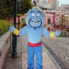high quality genie mascot costume adult size Halloween costume fancy dress free shipping