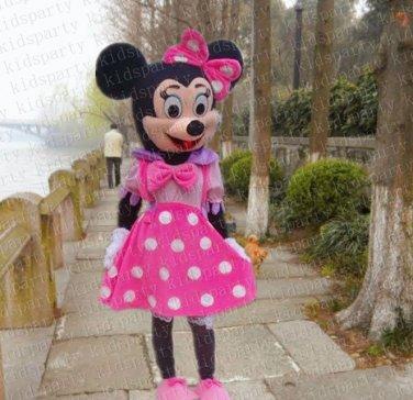 high quality minne mascot costume adult size Halloween costume fancy dress free shipping