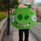 high quality green pig mascot costume adult size Halloween costume fancy dress free shipping