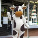 high quality milk cow mascot costume adult size Halloween costume fancy dress free shipping