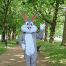 high quality bugs mascot costume bunny rabbit adult size Halloween costume fancy dress free shipping