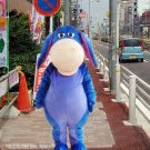 high quality donkey mascot costume Eeyore adult size Halloween costume fancy dress free shipping